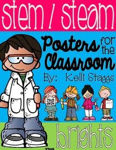STEM / STEAM Posters Brights
