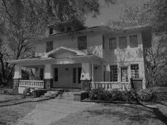 The Burleson House Waxahachie, Texas - Yep its haunted. http://www.texasfirsthand.com/index.php/the-back-roads/haunted-places-texas-2