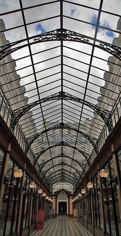 Paris, France.....Passage des Princes, Paris, France by Jean Claude Dresch