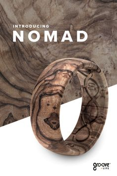 Featuring Groove's patented, breathable grooves and air-ports, our NEW Nomad rings are the perfect, safe, comfortable alternative to a traditional wedding band. Wedding Men, Wedding Bands, Wedding Tips, Wedding Ceremony, Mens Ring Designs, Wood Rings, Diy Schmuck, Wooden Jewelry, Swagg