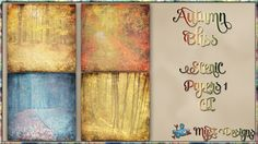 Autumn Bliss - Scenic Papers 1 CU