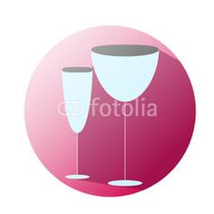 Glass icon supermaket #button #fotolia #design #concept #tool #cart #shop #online #services #icon #vector #business