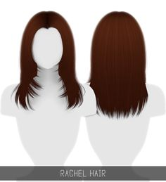 [Simpliciaty] — RACHEL HAIR 36 swatches; HQ mod compatible; ...