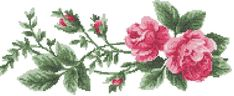 Rose cross stitch free embroidery design - Cross stitch - Machine embroidery forum