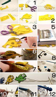Homemade Cat Toys.