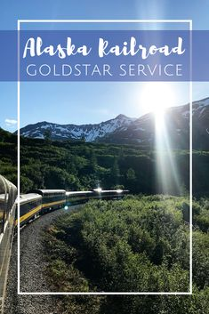Alaska Railroad Goldstar Service from Seward to Anchorage Alaska National Parks, Alaska Railroad, Visit Alaska, Get Up And Walk, Norwegian Cruise Line, Disney Cruise Line, Ways To Travel, Royal Caribbean, Train Travel