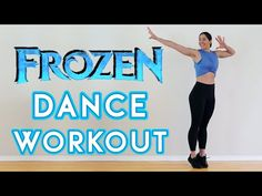 FROZEN DANCE WORKOUT | Full Body Cardio Workout To Songs From Disney's Frozen - YouTube Dance Workout Videos, Home Workout Videos, Fun Workouts, At Home Workouts, Frozen Soundtrack, Frozen Youtube, Freeze Dance, Disney Rides, Disney Songs