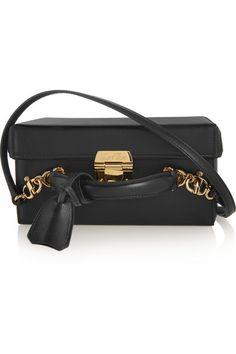 Mark Cross' coveted 'Grace' bag is inspired by the purse Grace Kelly wore in the film Rear Window. (in BLACK) https://www.net-a-porter.com/us/en/product/643383