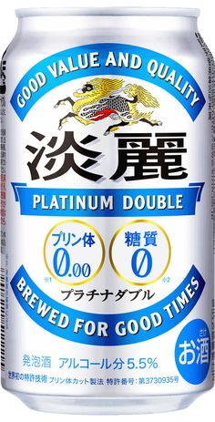 KIRIN - 淡麗 PLATINUM DOUBLE