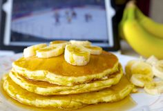 Discover how delicious Healthy Banana Pancakes can be with this easy to follow recipe.