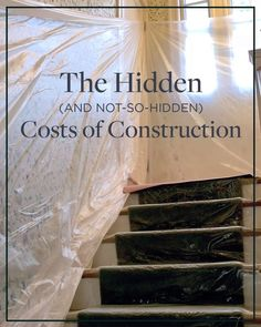 The Hidden Costs of Construction (and the Not So Hidden - Mortgage Estimator - Ideas of Buying Home Guide - #buyinghomeguide #homebuyingguide -   The Hidden (and not so hidden) Costs of Construction