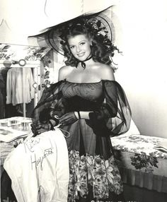 Rita Hayworth-Vintage Spanish-American beauty