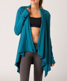 Take a look at this Breakwater Goal Wrap Cardigan by O'Neill on #zulily today!  Love this cardigan!