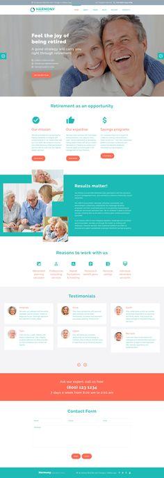 Joomla Template , Harmony - Retirement Planning
