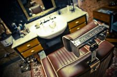 Treat the gentleman in your life to a shave & a haircut from the traditional barbers at Ted Baker's in Selfridges, London.