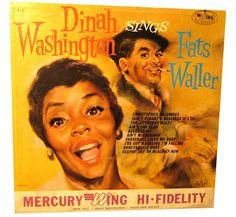 Dinah Washington - Sings Fats Waller by Tommer G, via Flickr