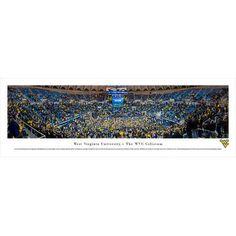 BlakewayPanoramas NCAA West Virginia University - Basketball by Christopher Gjevre Photographic Print