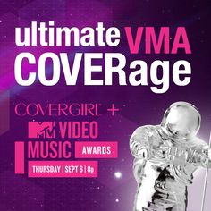 From music, to style, to gotta-have-it looks, the COVERGIRL VMA beauty team is bringing YOU the ultimate VMA COVERage before, during and after the show. Check it out on Facebook!