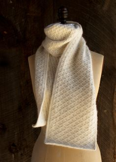 Trellis Scarf | The Purl Bee