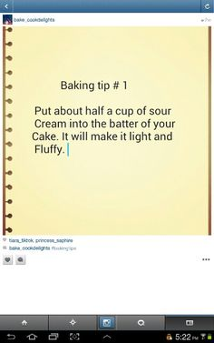 Baking tips - Tasty Indian Food Recipes Indian Menu Recipes Handy Hints For Cooking 20181115 Just Desserts, Delicious Desserts, Dessert Recipes, Cheesecake Recipes, Hacks Cocina, Zack E Cody, Baking Secrets, Tips & Tricks, Serious Eats