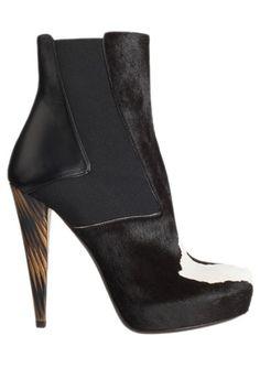 Kicking It: Shop Fall 2012's Top Trends in Boots - Wild Kingdom - Fendi