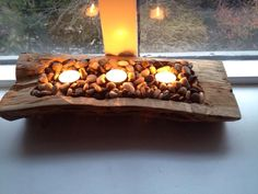 candleholder made by treehead design http://www.facebook.com/treeheaddesign