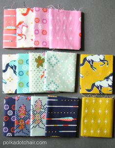 Cotton and Steel Fabric, Mustang