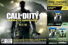 Call of Duty: Infinite Warfare kost 80 tot 110 euro en mist maps