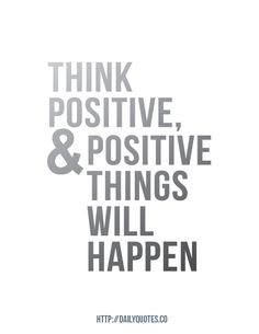 Positive Thought of the Day - #ExamMotivation