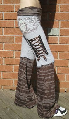 A Christmas Story Corset Pants DIY Upcycled Shirt OOAK You'll Shoot Your Eye Out | eBay