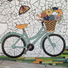 Mosaic Tile Art, Mirror Mosaic, Mosaic Glass, Stained Glass Birds, Stained Glass Panels, Mosaic Designs, Mosaic Patterns, Mosaic Furniture, Mosaic Portrait