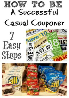 How to be a Successful Casual Couponer (7 Easy Steps) - Addicted 2 Savings 4 U