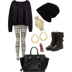 """""""Cozy out and about"""" by mellymell0 on Polyvore"""