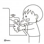 Okulöncesi ve Anasınıfı Temizlik sağlıkla ilgili boyama sayfaları – Okul Öncesi Etkinlik