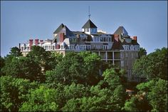 The Historic Crescent Hotel in Eureka Springs #Arkansas