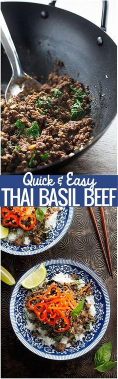 Thai Basil Beef - Qu