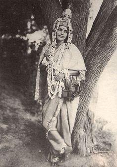 Anandamayi Ma as Sri Krishna