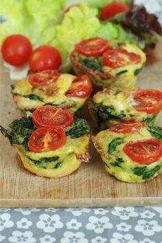 muffins épinard paléo