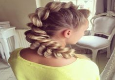 Amazing hairstyles by Sweethearts_hair_design