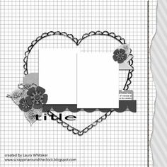 Stuck?!: April 1 2017 Challenge Featured Layout #2
