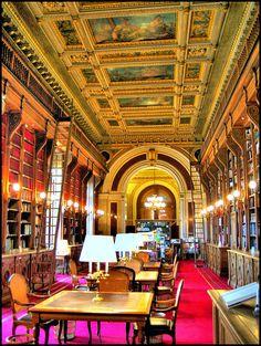 Library . Paris