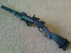 Tactical lever action