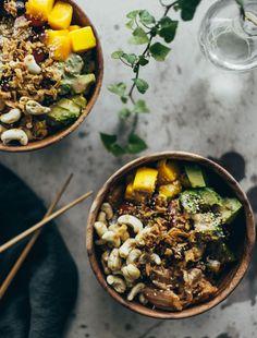 vegetarisk poké bowl