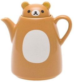 Rilakkuma Mini Pot for Milk, Souse — Put in anything you like $11.50 http://thingsfromjapan.net/rilakkuma-mini-pot-milk-souse-put-anything-like/ #rilakkuma stuff #san x product #kawaii Japanese stuff