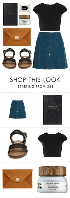 """""""Fashion #24"""" by twtl ❤ liked on Polyvore featuring Superdry, Smythson, Steve Madden, Alice + Olivia and H&M"""