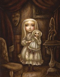 The Book Show: Edward Gorey's The Hapless Child by Benjamin Lacombe