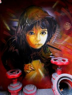C215 - Rome by C215, via Flickr
