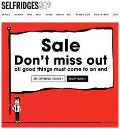 Selfridges Sale