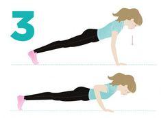 Vain seitsemän minuuttia riittää! Tämä pikajumppa korvaa tunnin puurtamisen | Me Naiset Hiit, Health Fitness, Exercise, Workout, Training, Ejercicio, Coaching, Work Out, Tone It Up