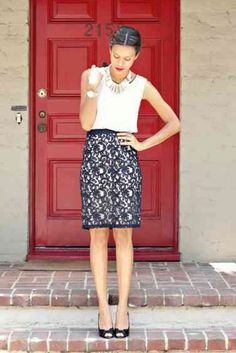 | Rita and Phill specializes in custom skirts. Follow Rita and Phill for more tips on the unwritten rules of office fashion!  http://www.zalora.vn/Giay-Sandal-Xo-Ngon-415558.html?utm_content=buffer22208&utm_medium=social&utm_source=pinterest.com&utm_campaign=buffer